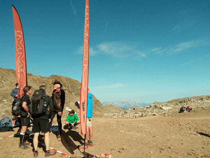 OMM Alps - Startbox unterhalb des Parpaner Rothorns - Foto: laufSinn