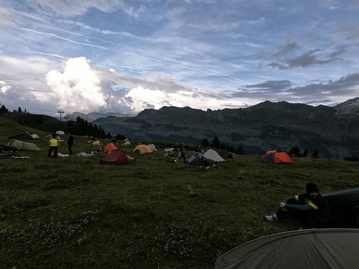 OMM Alps Nachtlager Heidbühl - Foto: laufSinn