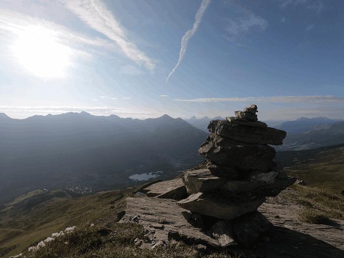 Stätzerhorn Gipfel - Foto: laufSinn