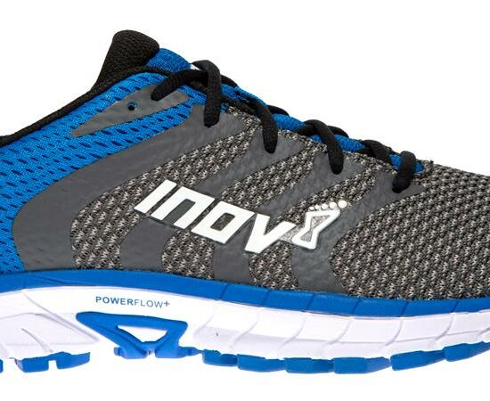 ROADCLAW 275 Knit Grey Blue Front - Foto: inov-8