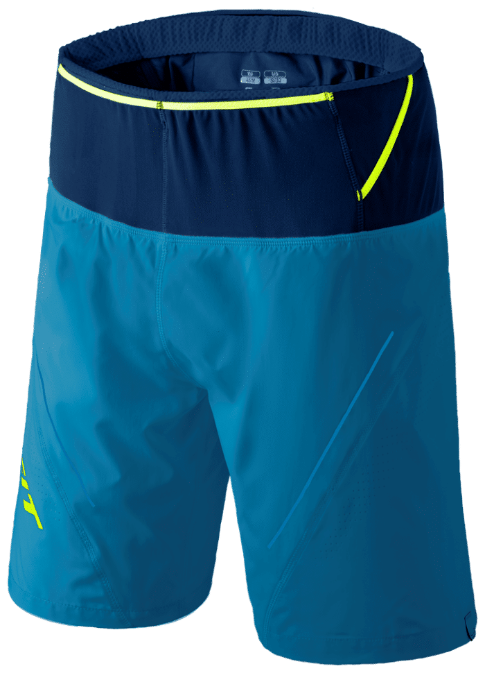 Dynafit Ultra 2in1 Short blau - Foto: Dynafit
